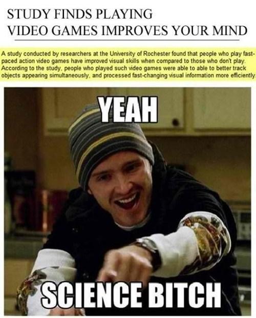 gamers,science,video games
