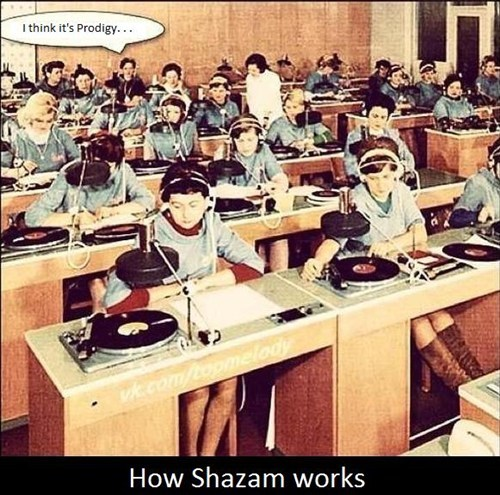 The '60s Version of the Shazam App