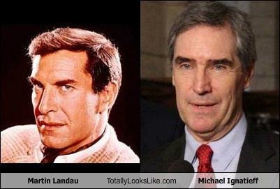Martin Landau Totally Looks Like Michael Ignatieff