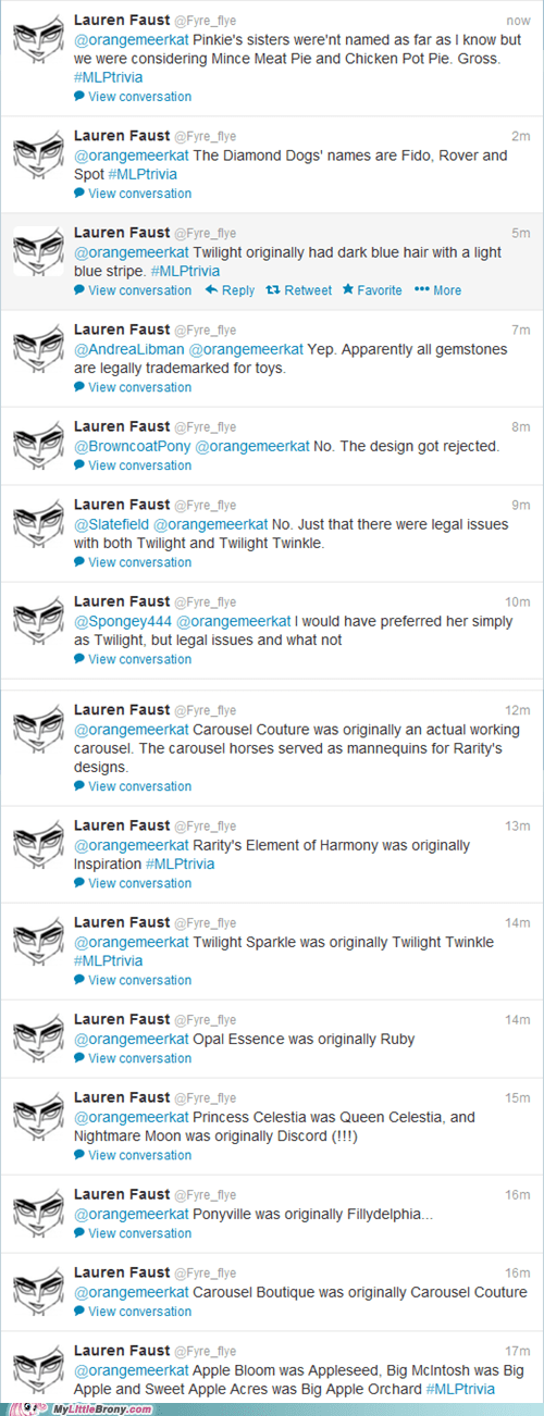 Some Cool Info from Lauren Faust