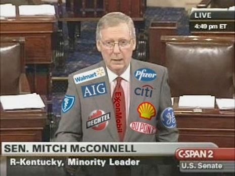 Petition of the Day: Make Legislators Wear Logos of Corporate Backers