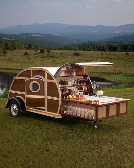A Tailgate Trailer for the Ultimate Fan