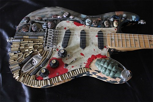 You'll Be Ready for the Apocalypse With This Anti-Zombie Guitar