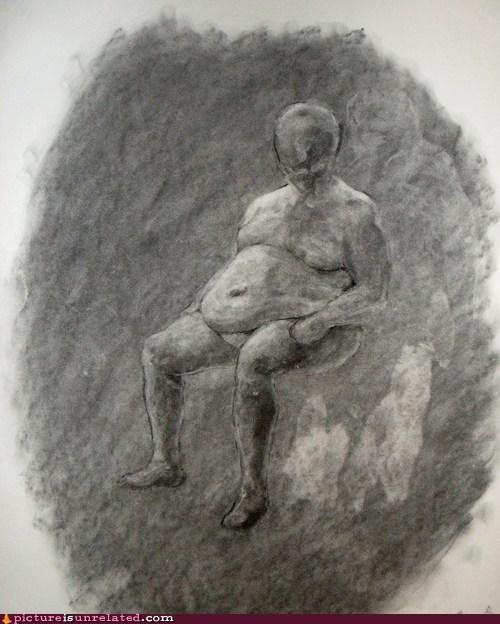 drawing,wtf,fat,slendeman