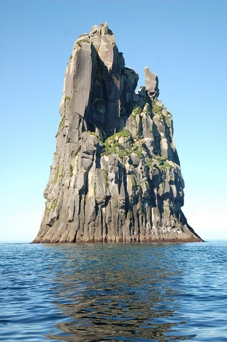 Off the Coast of Urup Island, Russia