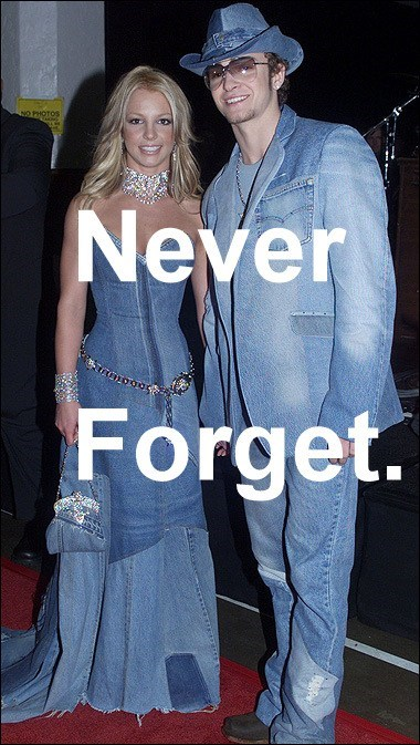 britney spears,never forget,Justin Timberlake