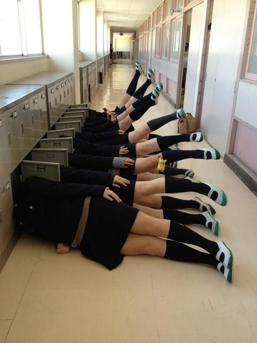 Nap Time in School