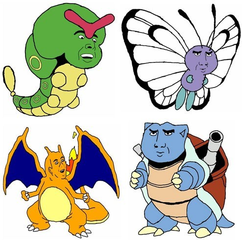 Pokémon as Nic Cage