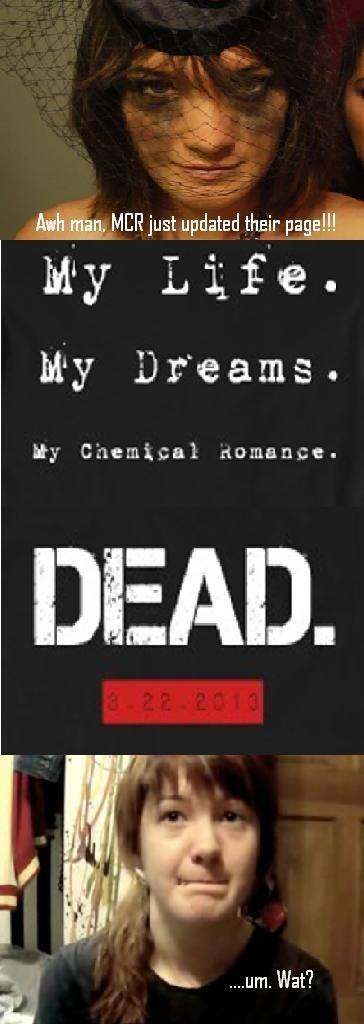 dreams,fangirls,my chemical romance,breakups