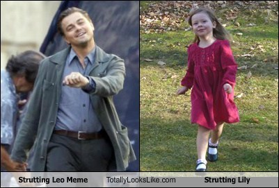 Strutting Leo Meme Totally Looks Like Strutting Lily