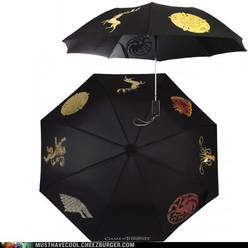 An Umbrella to Protect You From Winter, Spring, and Maybe Even Dragons