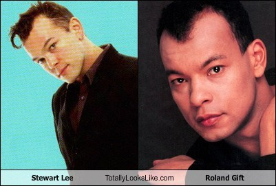 Stewart Lee Totally Looks Like Roland Gift