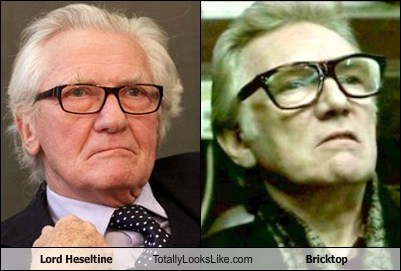 Lord Heseltine Totally Looks Like Bricktop