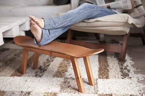 furniture,stool,skateboard