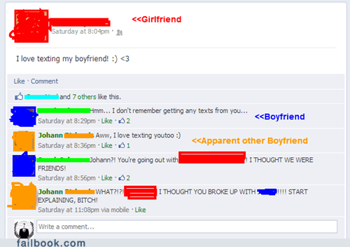 15 Examples of Why Facebook and Relationships Don't Mix