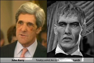 John Kerry Totally Looks Like Lurch