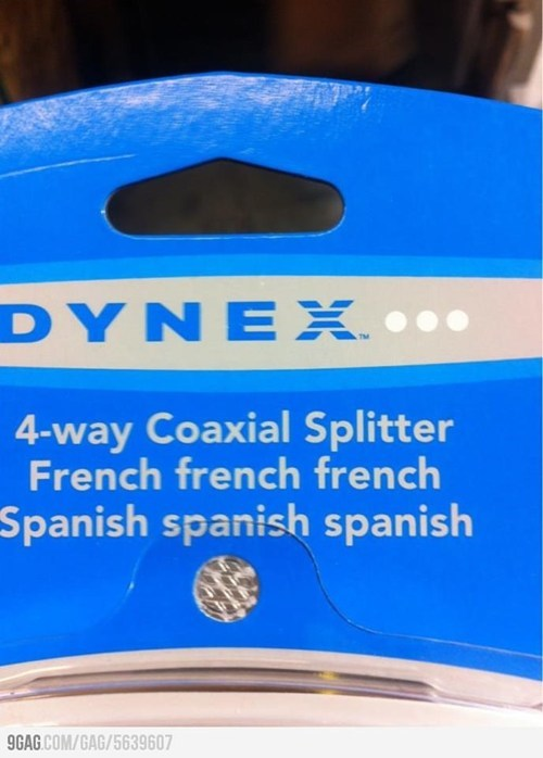 Perhaps We Should Hire a Translator