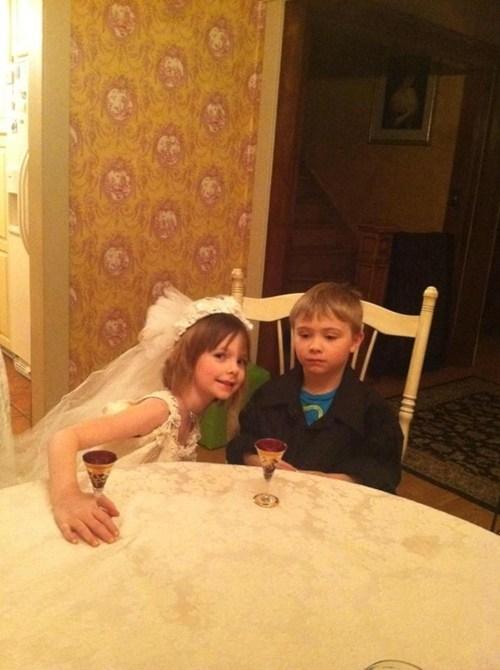 wedding dresses,brides,children