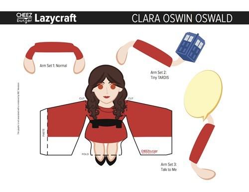 Clara Oswald Lazycraft Cheezburger.jpg