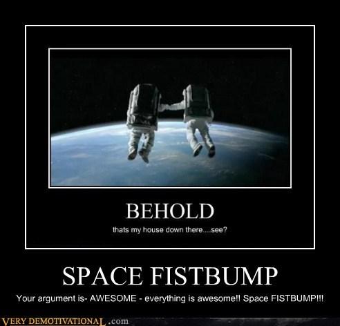 SPACE FISTBUMP