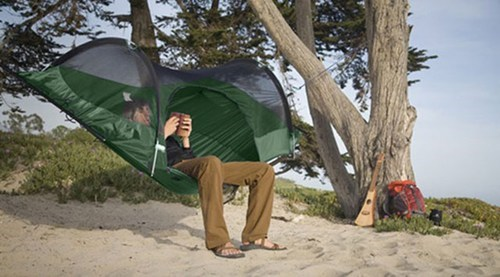 This Tent Will Keep You High and Dry