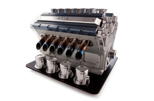 Twelve Cylinders of Caffeinated Power
