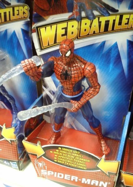 What? Spider-Man is Just Making Some Web.