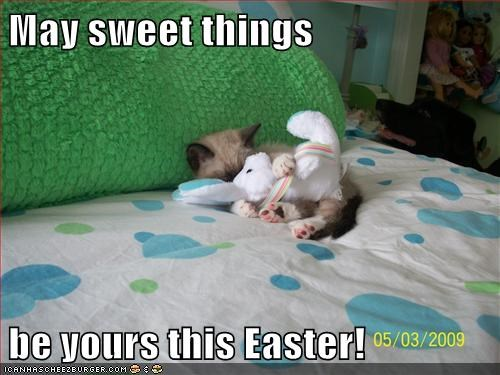 May sweet things  be yours this Easter!