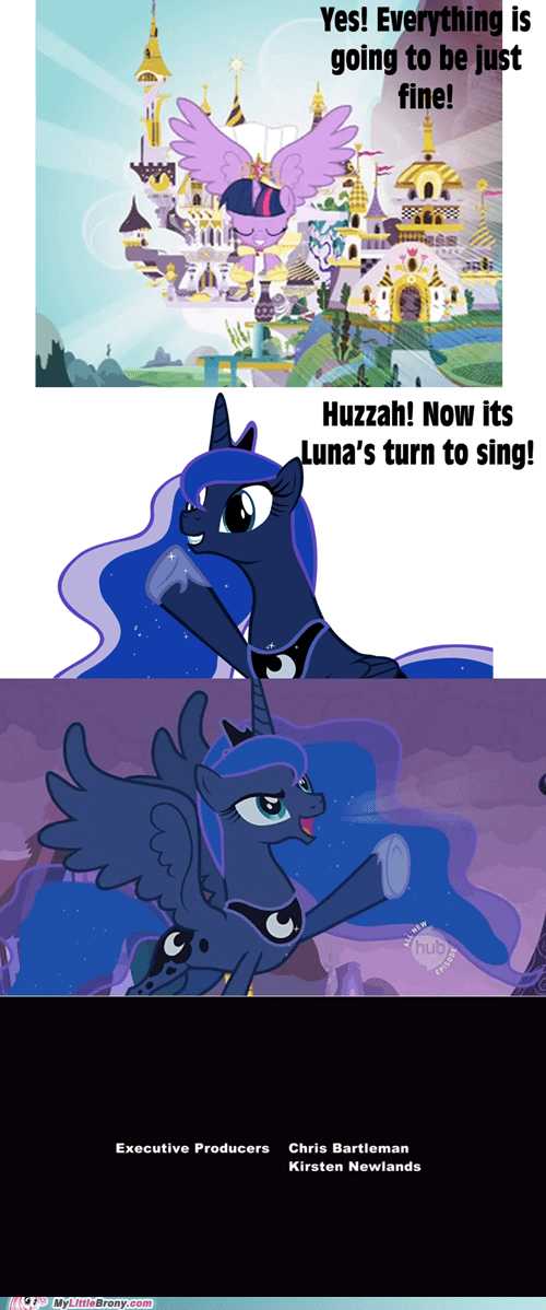 Its Luna's Turn to Sing!