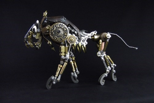 Check Out the Intricate Metal Work of Daisuke Shimodaira!