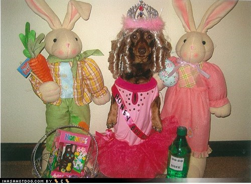 Happy Easter From Your Wiener Honey Boo Boo
