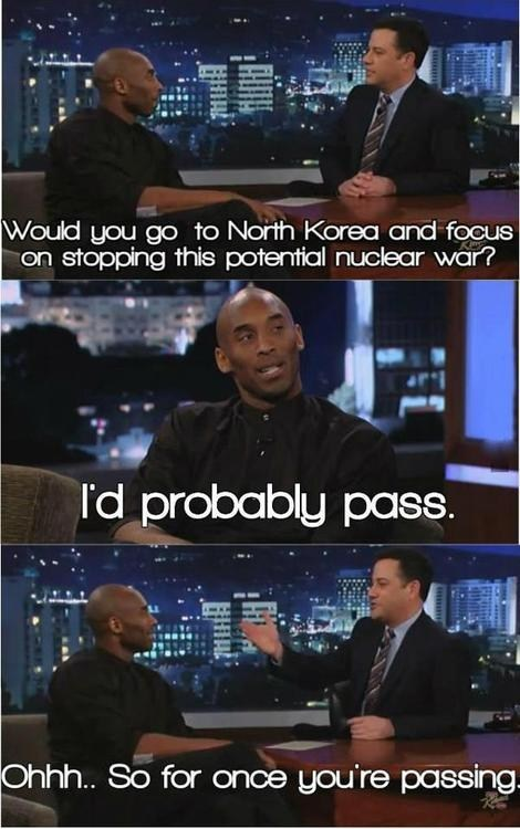 Kobe on Jimmy Kimmel