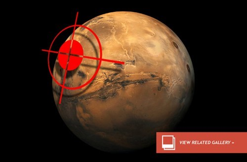 A Small Chance a Comet Will Impact on Mars in the Next Year