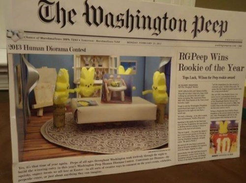 This Peep Contest Just Got Meta