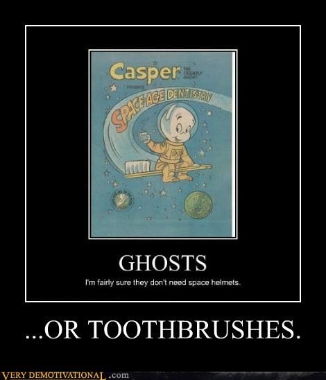 ghost,casper,toothbrush