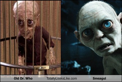 Old Dr. Who Totally Looks Like Smeagol