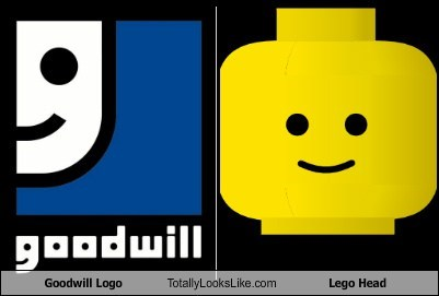 Goodwill Logo Totally Looks Like Lego Head