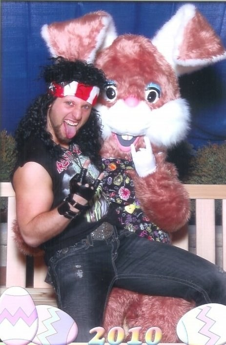 Rawkin' With the Easter Bunny