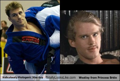 Ridiculously Photogenic Jitsu Guy Totally Looks Like Westley from Princess Bride