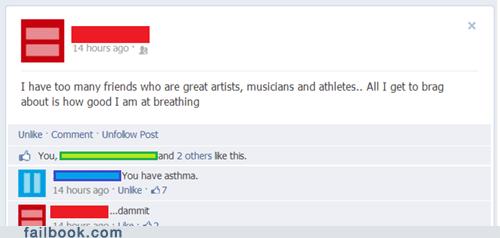 artists,asthma,athletes,breathing,musicians,failbook