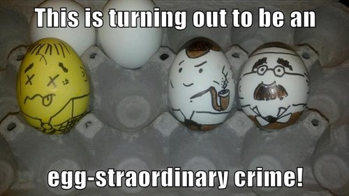 art,eggs,crime,Sherlock