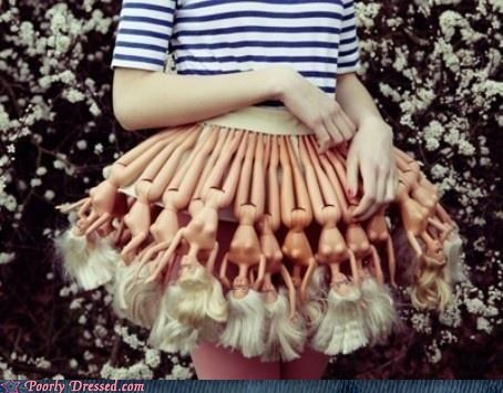 Dress Your Skirt and Comb its Hair