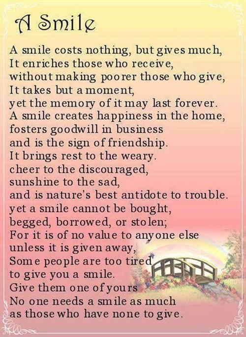 meemawbase,smiles,poems