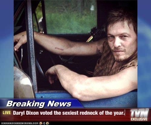 Breaking News,rednecks,The Walking Dead