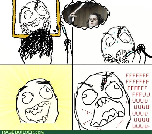 Sweeney Todd,razor,shaving