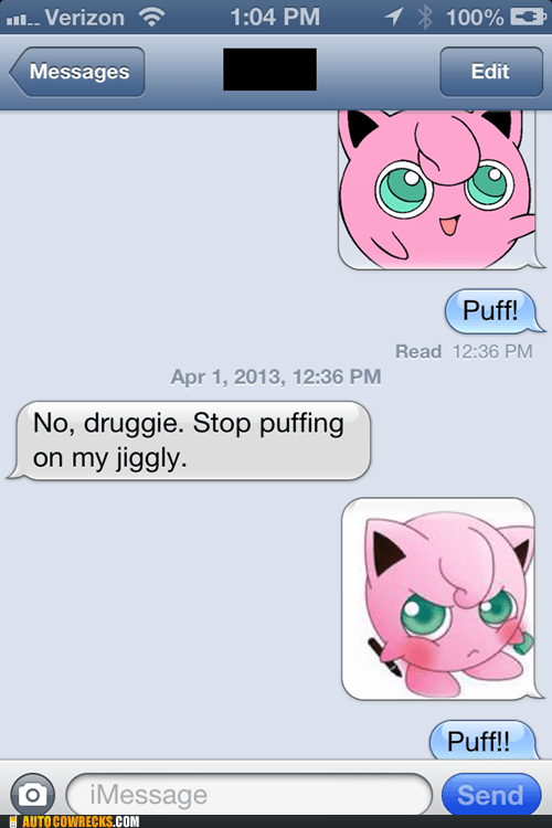 Don't Anger the Puff