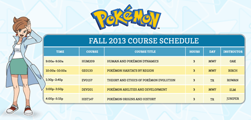 You Can Now Receive a Degree in Pokémon Mastery