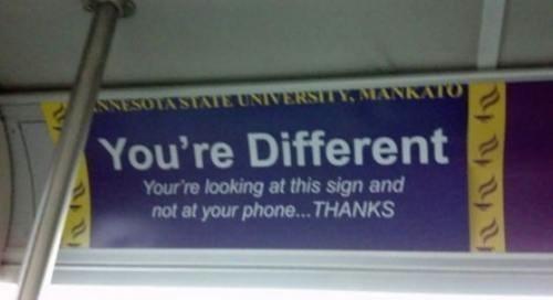 clever ads,smartphones,public transportation,bus