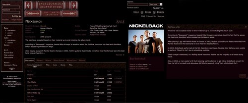"""Encyclopedia Metallum"" Adds Nickelback as April Fools Prank"