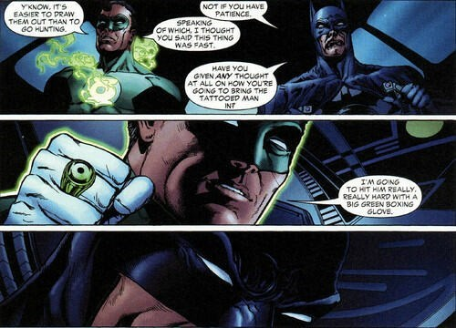 The Green Lantern Always Has the Best Plans